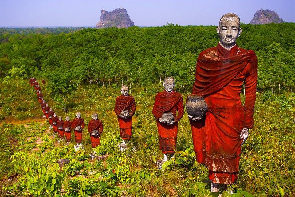 buddha-monks